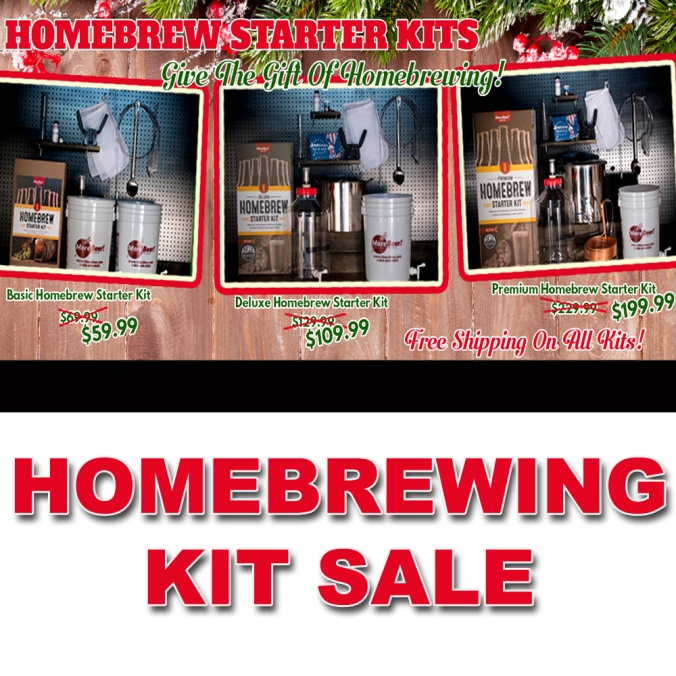 Home Beer Brewing Kits On Sale At MoreBeer.com Plus Free Shipping #home #beer #brewing #making #how #to #brew #homebrew #homebrewing
