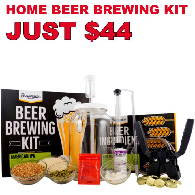 Get a 1 Gallon IPA Home Beer Brewing Kit For Just $44 With This Morebeer.com Coupon Code