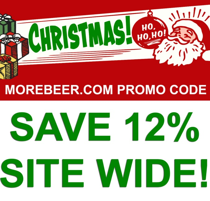 Save 12% Site Wide at MoreBeer.com With Promo Code
