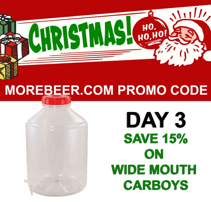 Save 15% On FerMonster Wide Mouth Homebrew Carboys