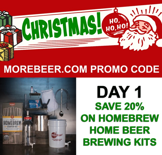 Save 20% On Home Beer Brewing Kits #homebrew #homebrewing #beer #promo #code #morebeer #more #beer