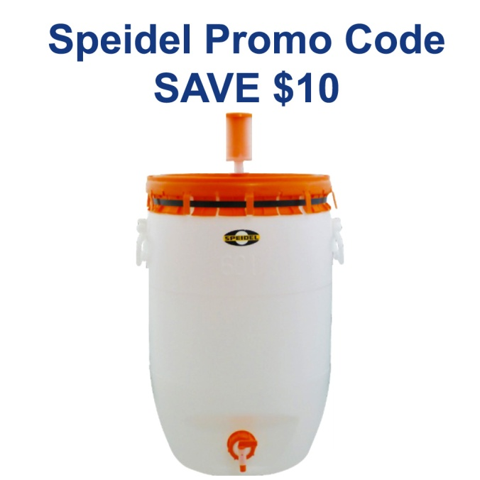 Take $10 Off A Speidel 15 Gallon Fermenter With More Beer Promo Code