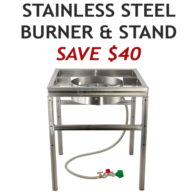 Save $40 On A More Beer Stainless Steel Burner and Stand