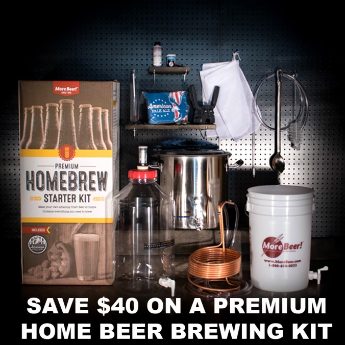 Save $40 On Premium Homebrewing Kit With This MoreBeer.com Promo Code