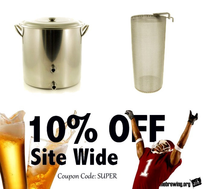 Save An Additional 10% with this Adventures in Homebrewing