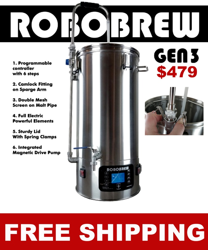 Robobrew Home Brewery