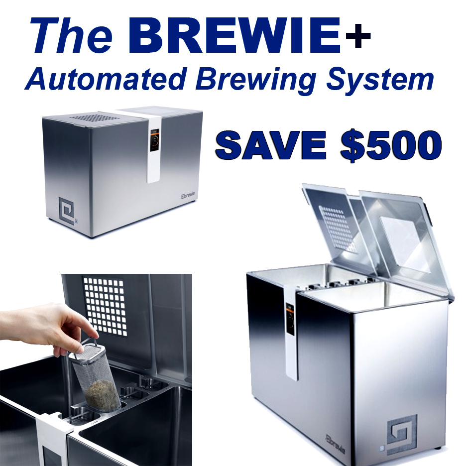 Save $500 On A New Brewie + Automated Home Beer Brewing System ...