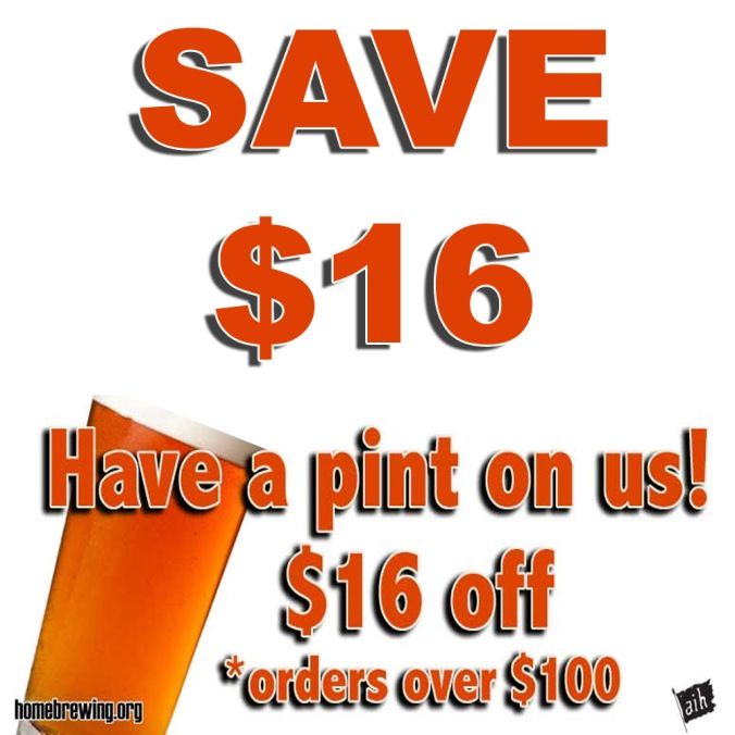 Save $13 On Your Order at Adventures in Homebrewing