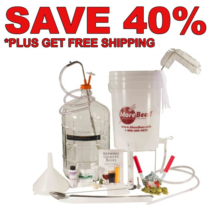 Save $55 On A Deluxe Home Brewing Kit Plus Get Free Shipping