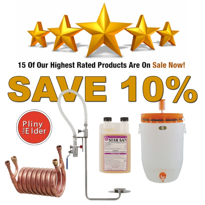 Save An Additional 10% On 15 Of MoreBeer's Highest Rated Home Brewing Gear