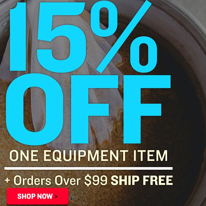 Save 15% On An Item + Free Shipping Over $99 With This NorthernBrewer.com Promo Code