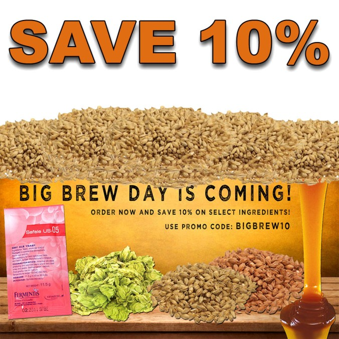 More Beer Coupon Code for 10% Off Home Brewing Ingredients