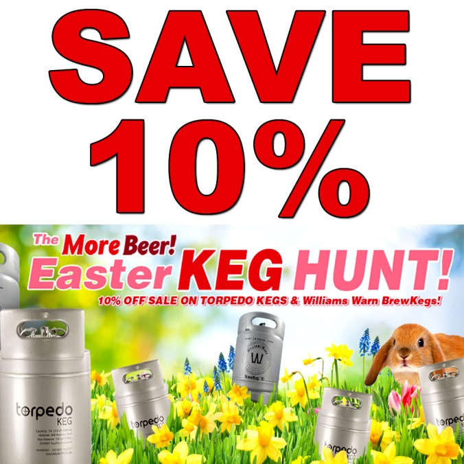 Save 10% On Kegs at More Beer With This Promo Code