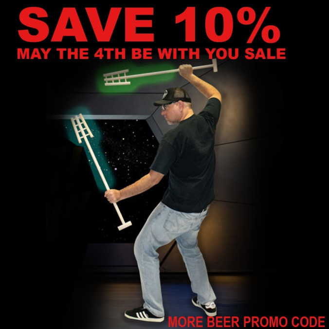 May the 4th Be With You - More Beer Promo Code Save You An Additional 10% On Select Items