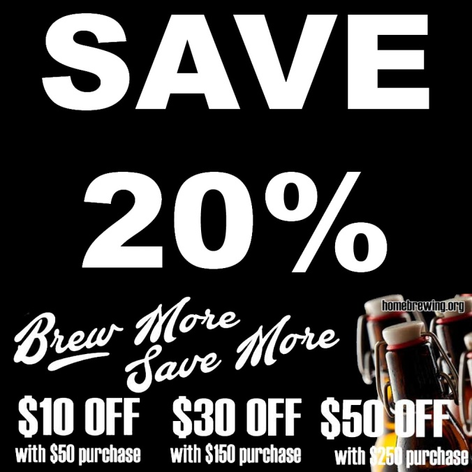Save Up To 20% On Your Purchase at Adventures in Homebrewing