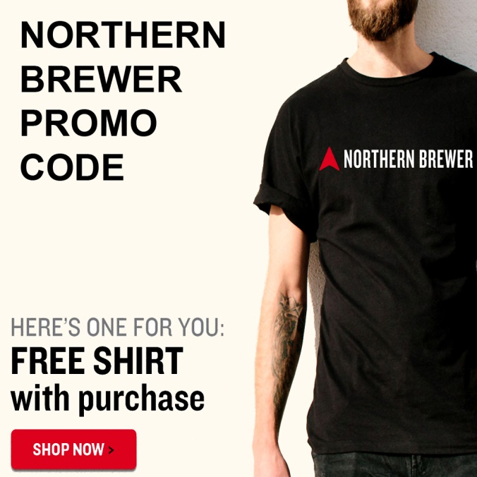 Northern Brewer Coupon Code - Get A Free T-Shirt