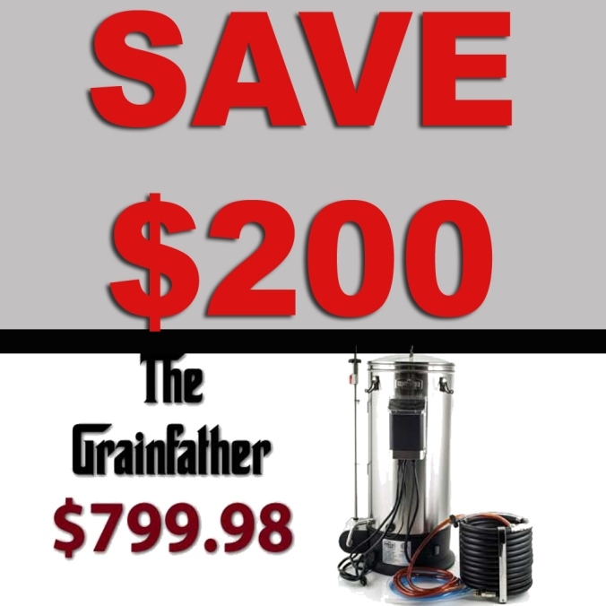 GrainFather Promo Code - Save $200 Plus Get FREE Shipping