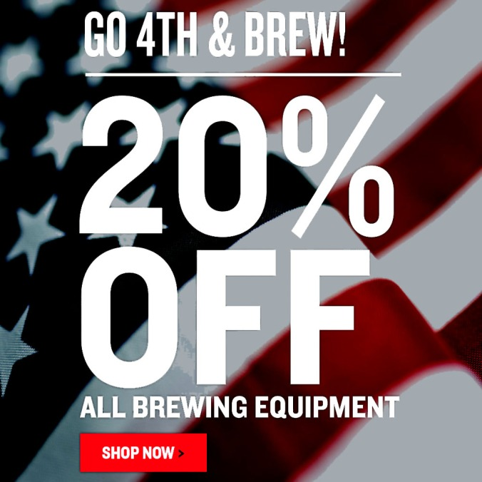 Northern Brewer 4th of July Promo Code