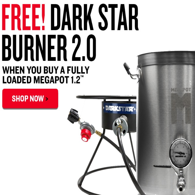 NorthernBrewer.com Coupon Code - Get A Free Dark Star Home Brewing Burner