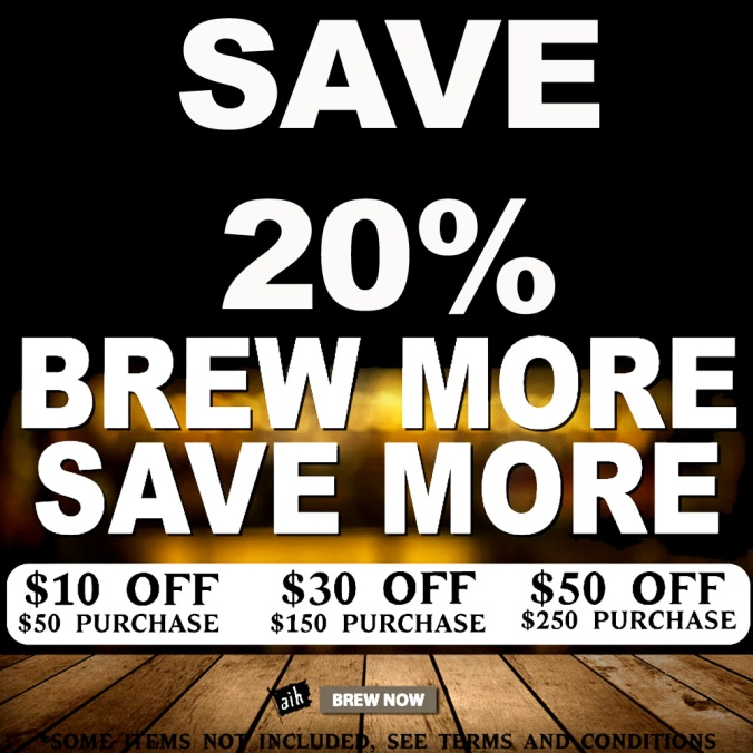 Save Up To An Additional 20% With This Adventures In Homebrewing Discount
