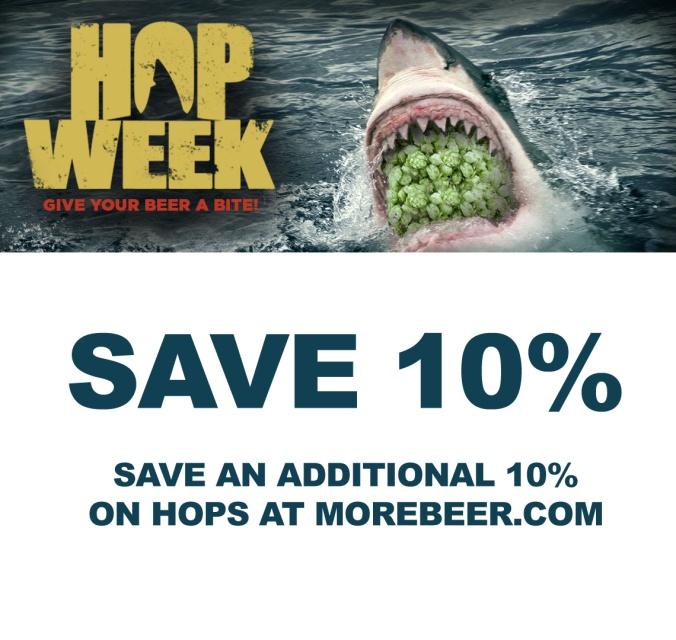 Save An Additional 10% On Hops