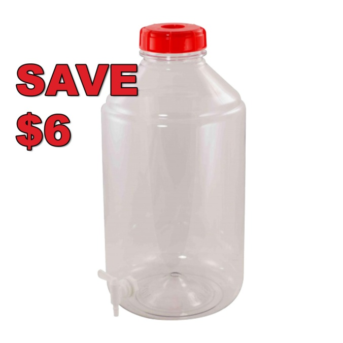 Save $6 On A Fermonster 7 Gallon Plastic Carboy #morebeer #coupon #promo #code