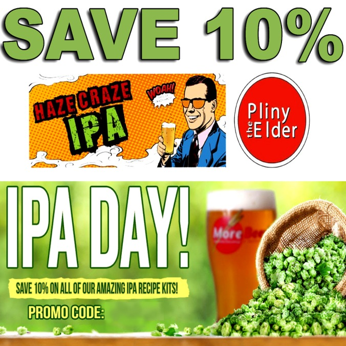 MoreBeer.com Coupon Code For An Additional 10% Off IPA Beer Kits At MoreBeer.com