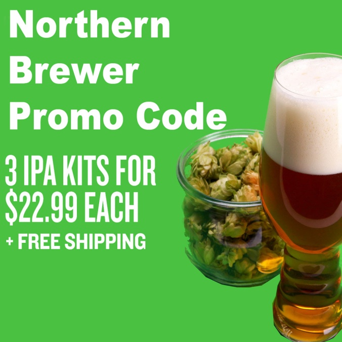 Get 3 IPA Beer Kits for Just $23 Each With This Northern Brewer Promo Code
