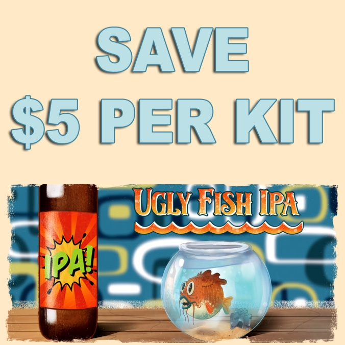 Save $5 On MoreBeer.com Ugly IPA Beer Kits With Promo Code