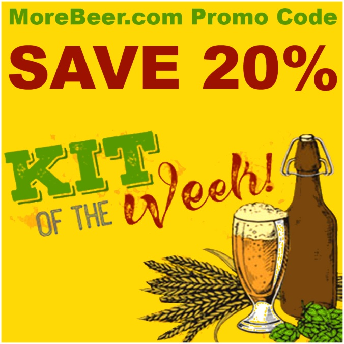 Save 20% On The Beer Kit Of The Week With This MoreBeer Promo Code