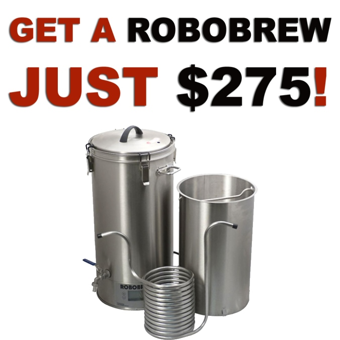 Get A RoboBrew Electric Homebrewing System for Just $275