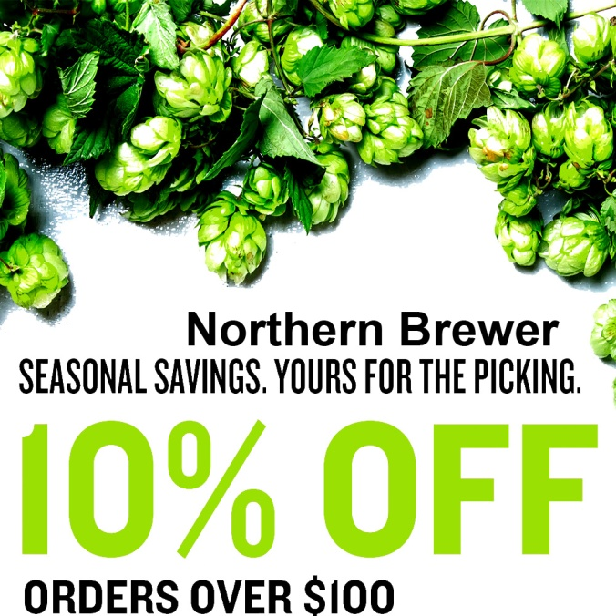 Save 10% On Your Purchase Of $100 With This NorthernBrewer.com Promo Code