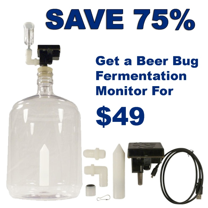 Get A Beer Bug Fermentation Monitoring System For Just $49