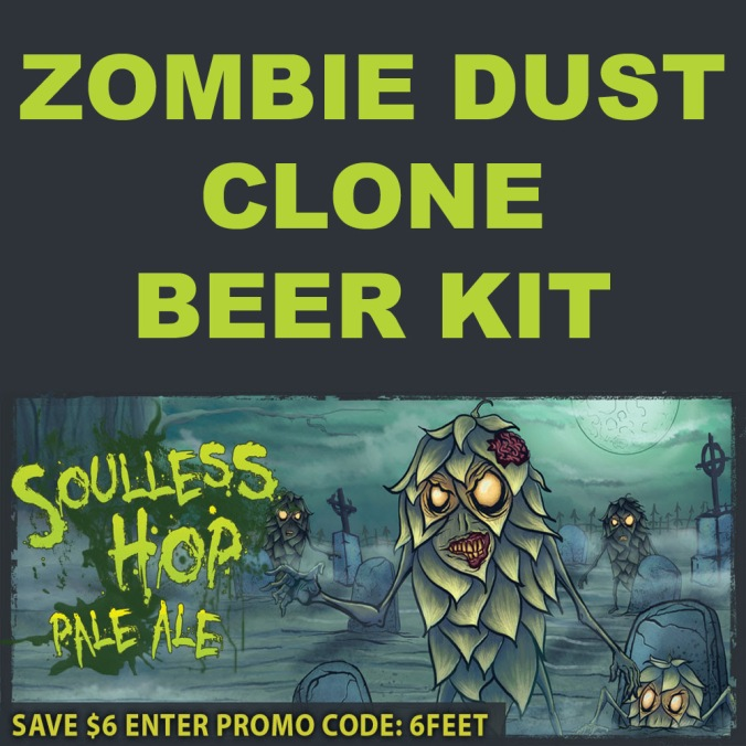 Save $6 On A Zombie Dust Clone Home Brewing Kit