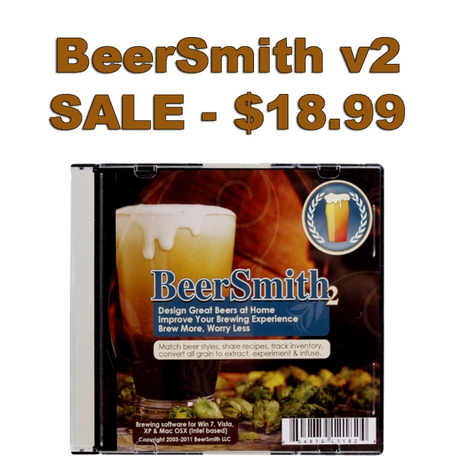 MoreBeer.com Promo Code On BeerSmith Homebrew Software