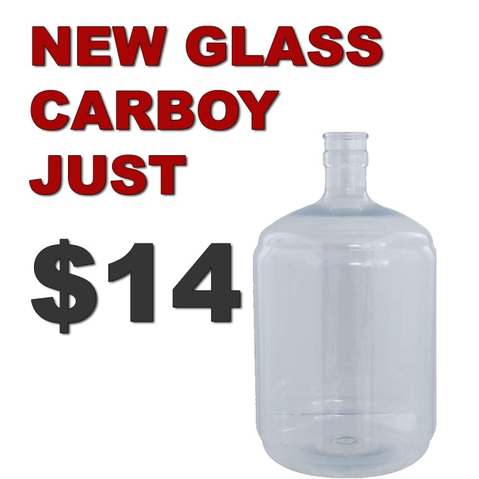Get A NEW Carboy for Just $14 With MoreBeer.com Promo Code BEERDEAL