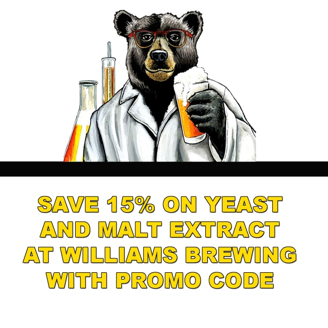 Save 15% On Home Brewing Yeast and Beer Malt Extract