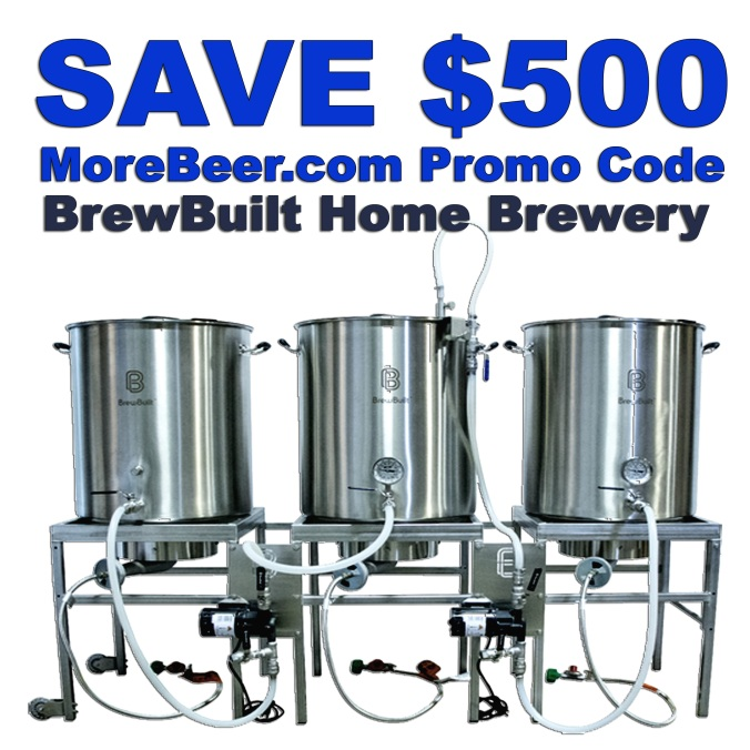 MoreBeer.com Promo Code, Save $500 On A Home Brewing System