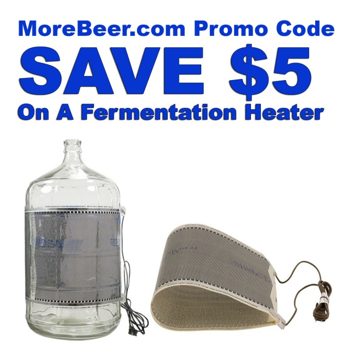 Save $5 at MoreBeer.com on a Fermentation Heater