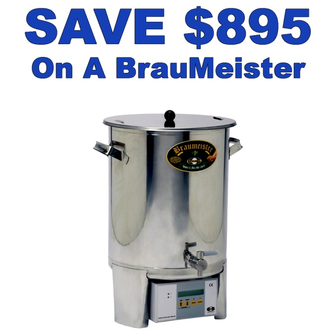 Save 45% On A Brau Meister Home Beer Brewing System