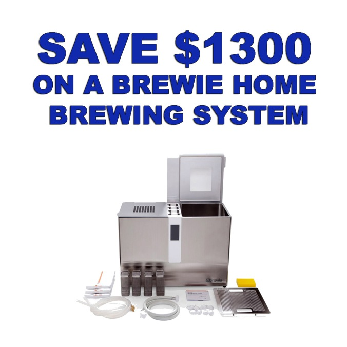 Save $130 On A Brewie Home Brewing System With This MoreBeer.com Promo Code