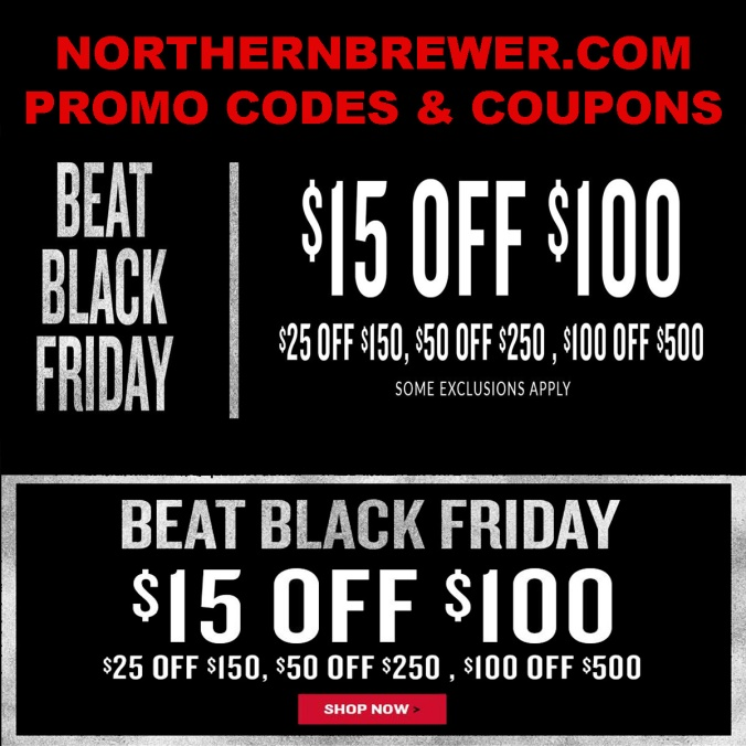 Save $100 With This Northern Brewer Promo Code
