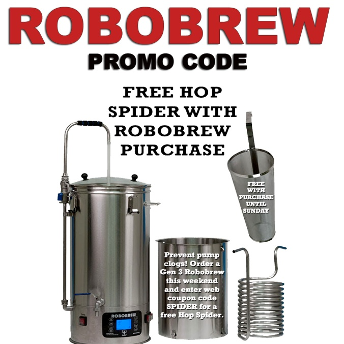 Get a FREE Hop Spider & Free Wort Chiller With This WilliamsBrewing.com Coupon