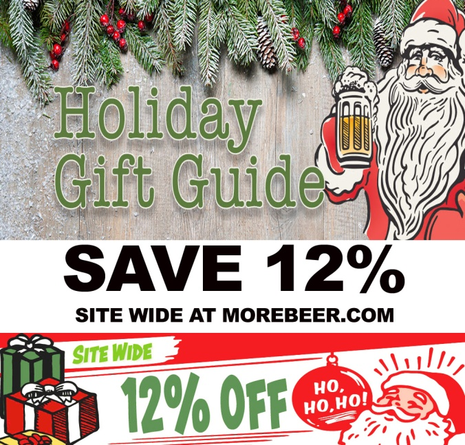 Save 12% Site Wide with this MoreBeer.com Coupon