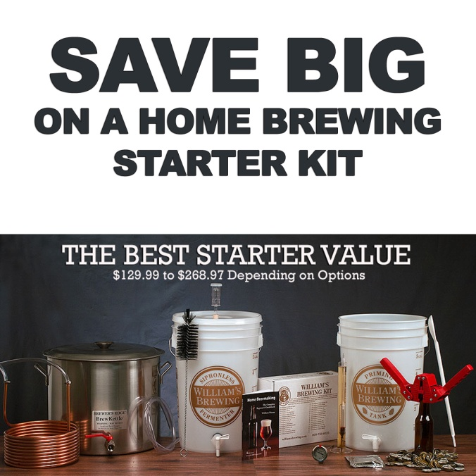 Williams Brewing Coupon Code For Home Beer Brewing Kits