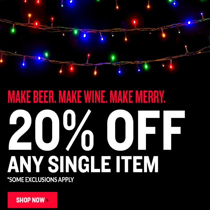 Save 20% On An Item At NorthernBrewer.com With This Northern Brewer Promo Code
