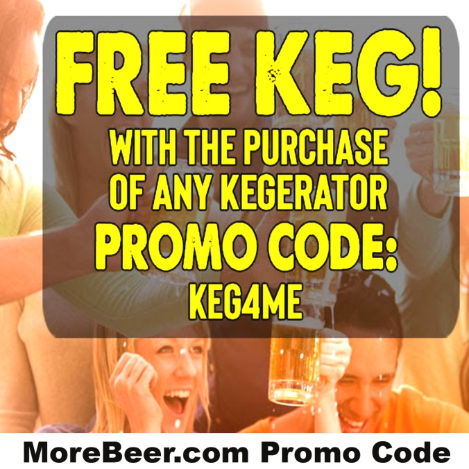 Get a Free Keg At More Beer With Promo Code