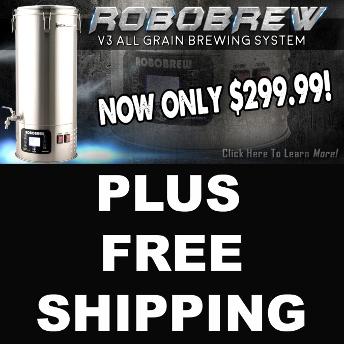 MoreBeer.com Coupon - Get a RoboBrew for Just $299 and FREE SHIPPING