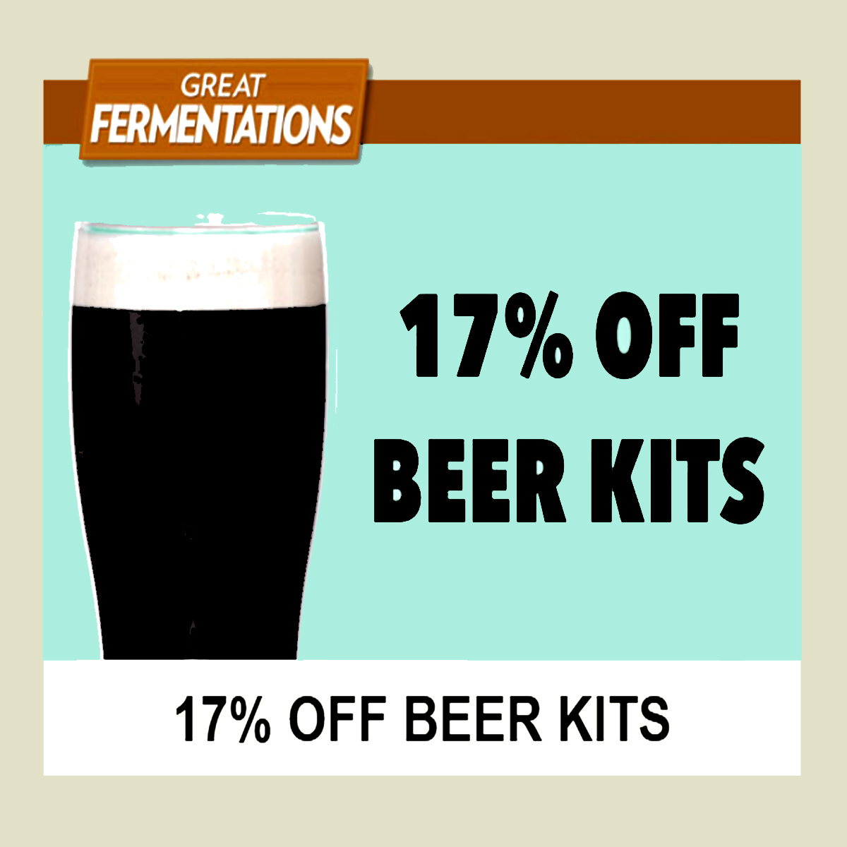 Save 17% on Beer Kits at Great Fermentations with this Greatfermentations.com Coupon Code