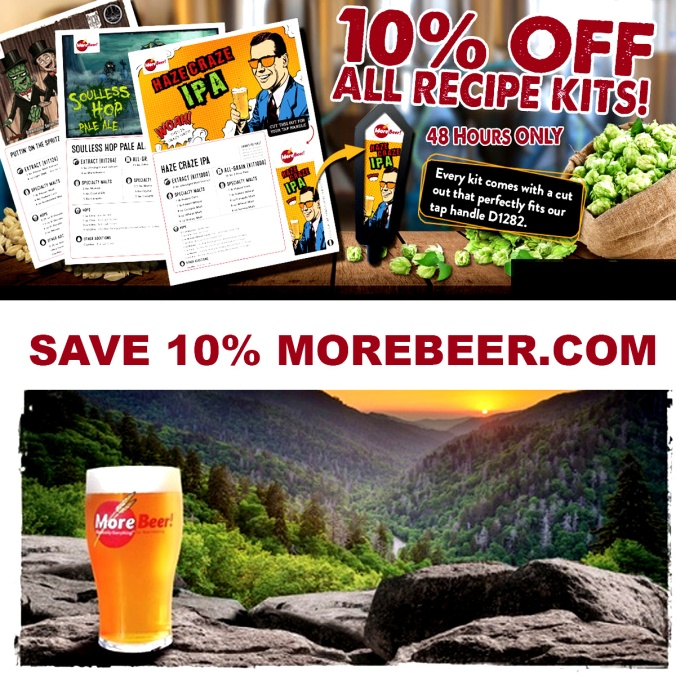 Promo Code and Coupon for MoreBeer.com Save 10% On Home Brewing Beer Kits